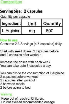 evolv-L-Arginine-supplement-facts