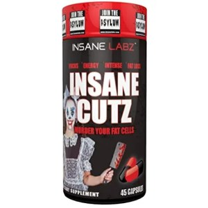Insane Labz Insane Cutz Fat Burner 45 Servings-0