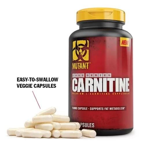 Mutant L Carnitine 120 Capsules-1343