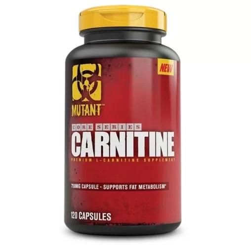 Mutant L Carnitine 120 Capsules