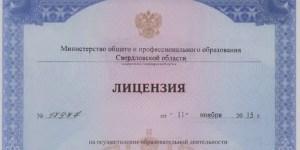 Лицензия Академии ДПО на право ведения образовательной деятельности