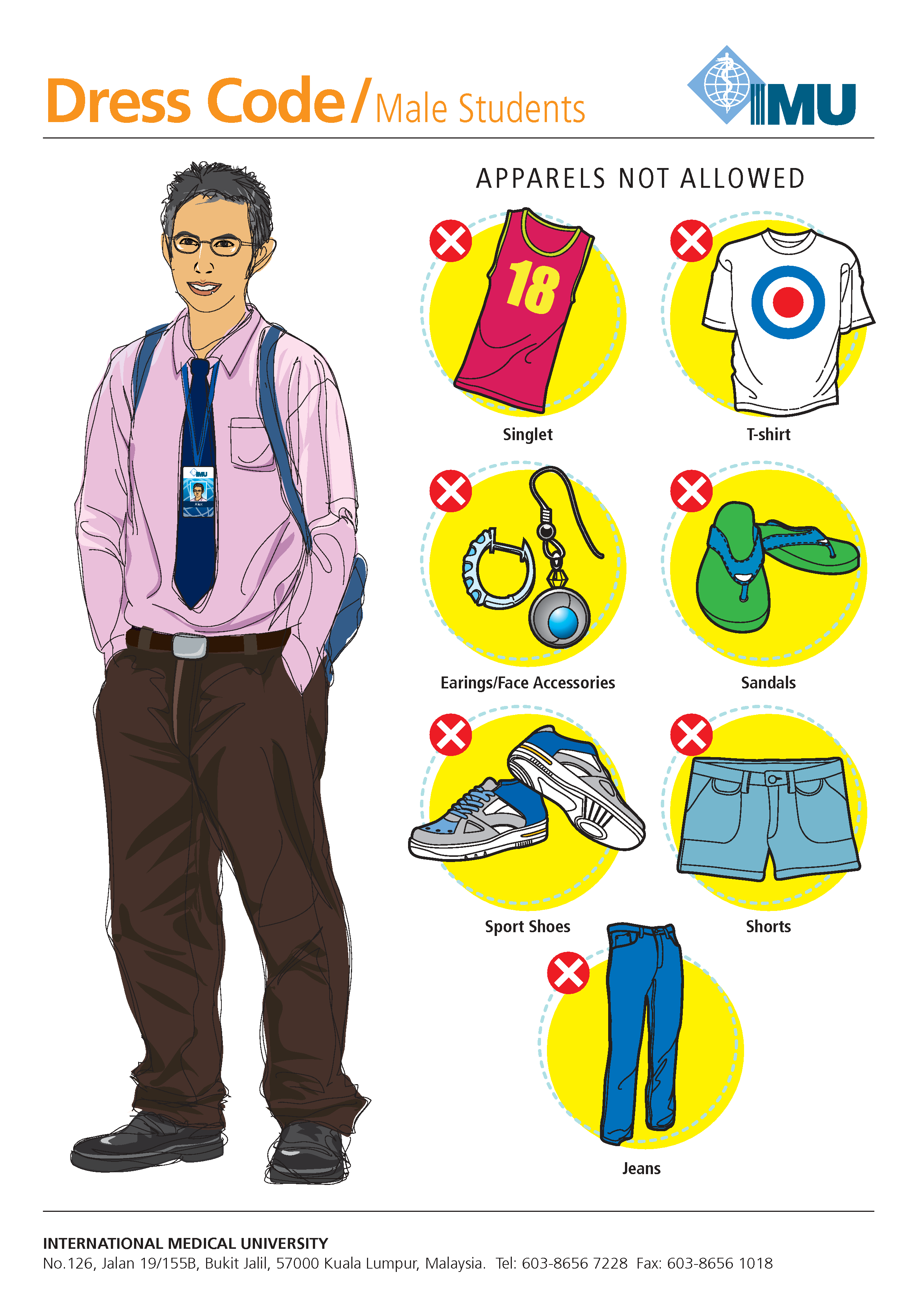 Student And Faculty Dress Codes