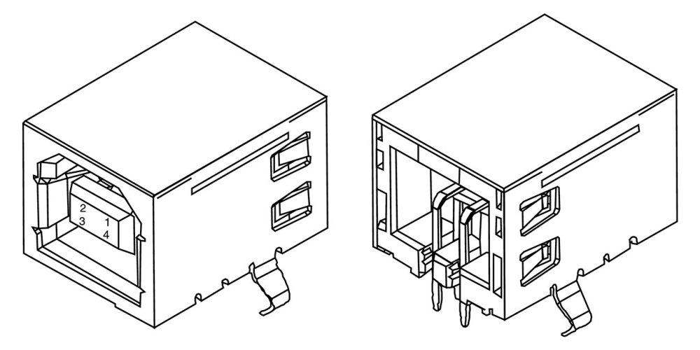 medium resolution of usb socket datasheet diagram