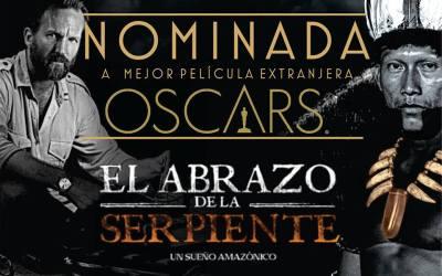 EL ABRAZO DE LA SERPIENTE nominada a los Premios Oscar de la Academia de Hollywood