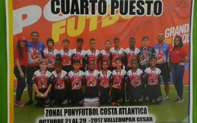 Zonal Norte Pony Fútbol, Crespo cuarto lugar