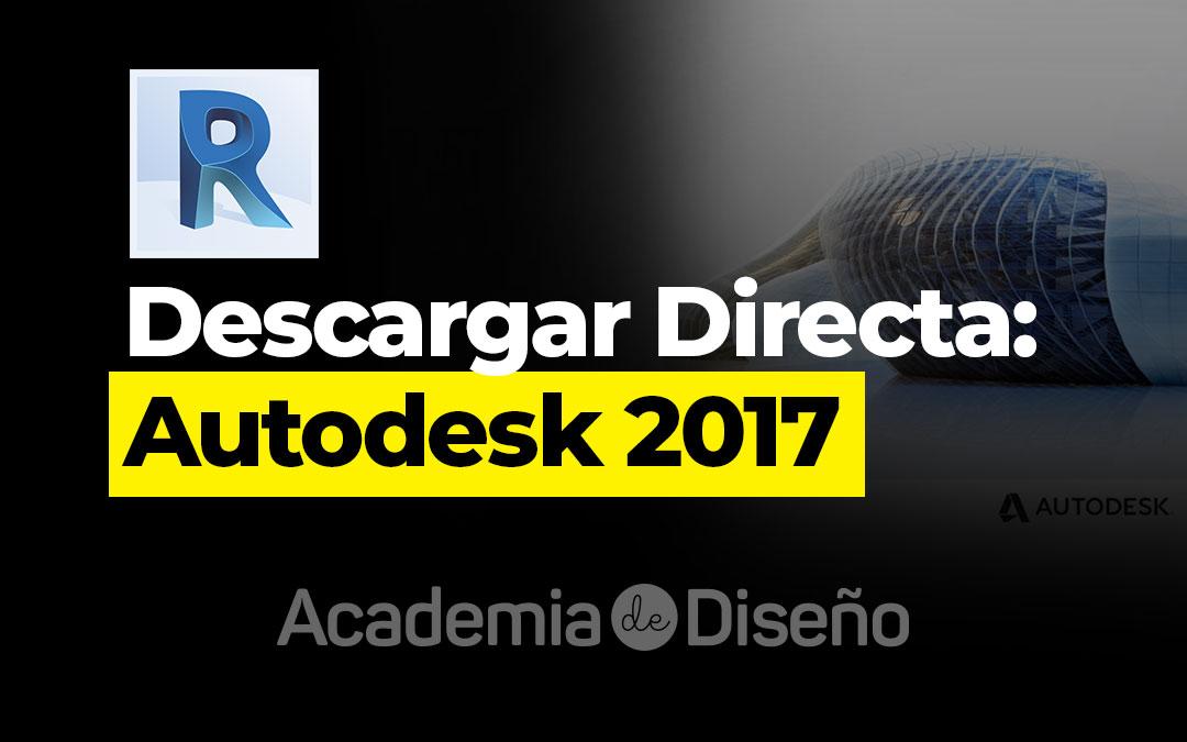 Descargar Directa: Autodesk 2017