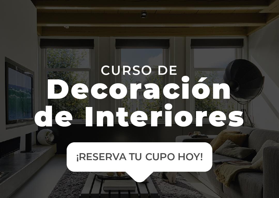 Curso de Decoración de Interiores en Santo Domingo