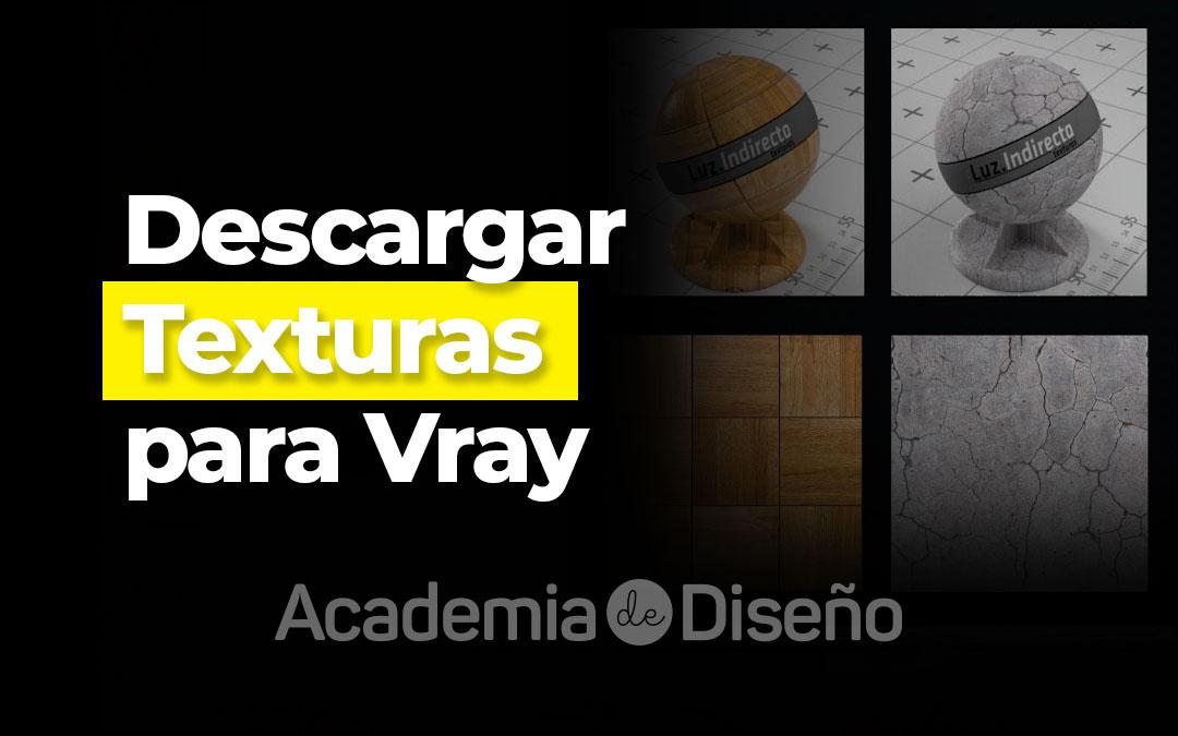 Descargar texturas para Vray
