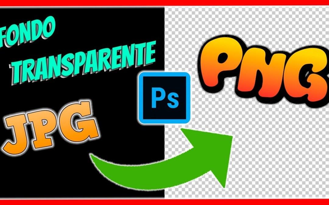 Convertir imagen a PNG con Photoshop
