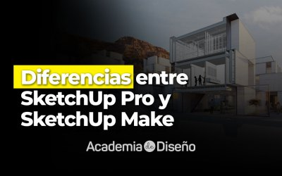 Diferencias entre SketchUp Pro y SketchUp Make