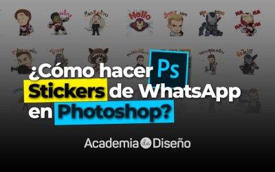 ¿Cómo hacer Stickers de WhatsApp en Photoshop?