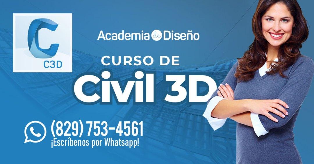 Curso de Civil 3D en Santo Domingo