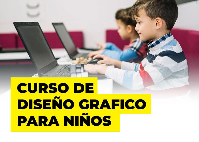 Curso de Diseño Gráfico para niños
