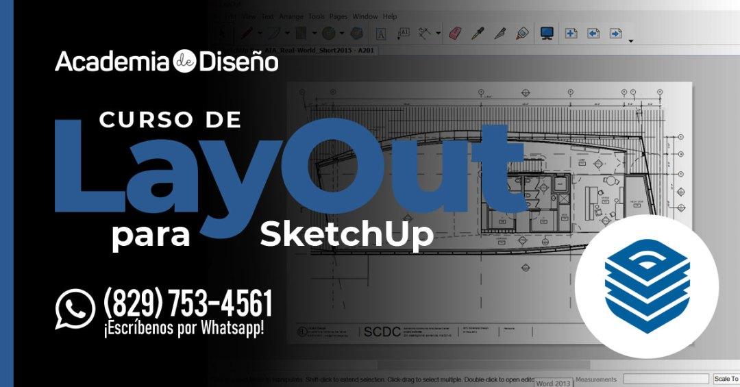 Curso de LayOut para SketchUp en Santo Domingo