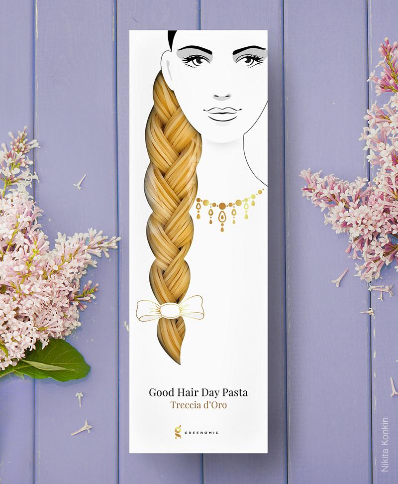 Good Hair Day Pasta por Nikita Konkin