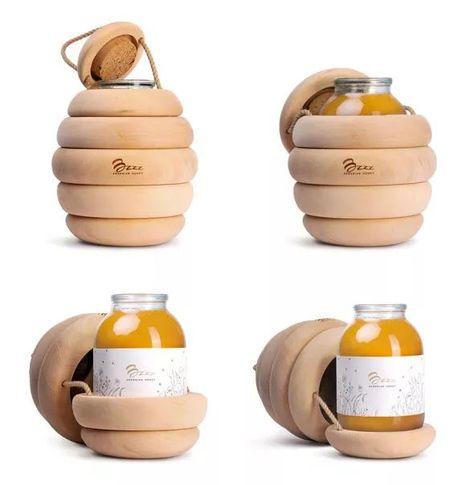 Honey Packaging Backbone Branding
