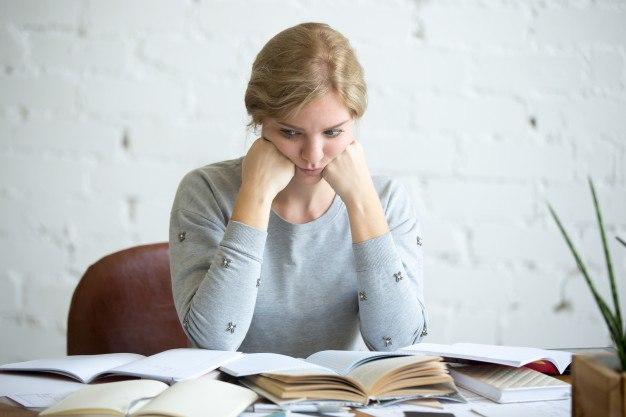 Falta de concentracion estudiando