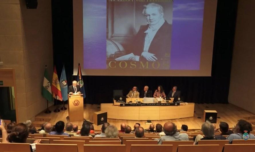 Hace un año: 'Humboldt y el cosmos' cerraba el ciclo de conferencias de la Real Academia del curso 2018-2019