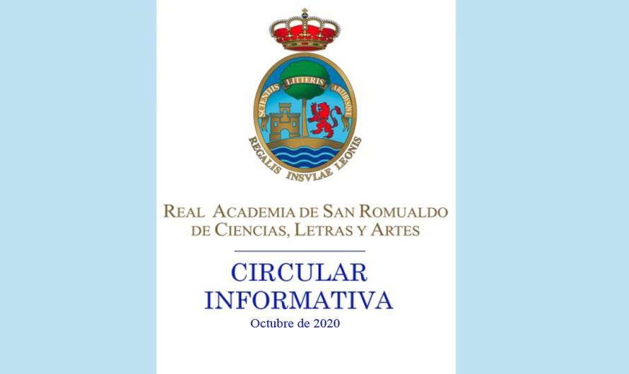 Aprobación de la candidatura a Junta de Gobierno de la Real Academia de San Romualdo de Ciencias, Letras y Artes