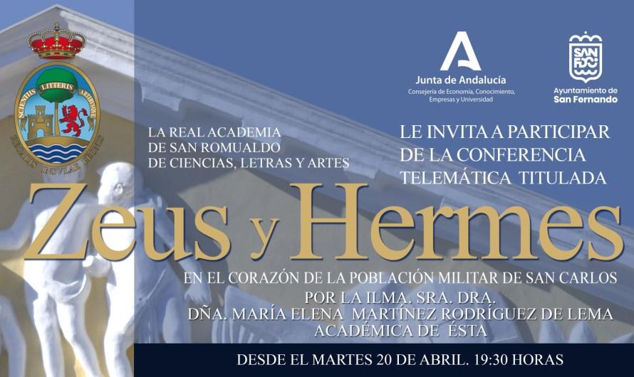 'Zeus y Hermes en el corazón de la población militar de San Carlos', conferencia para el 20 de abril