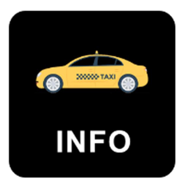 screen info taxi