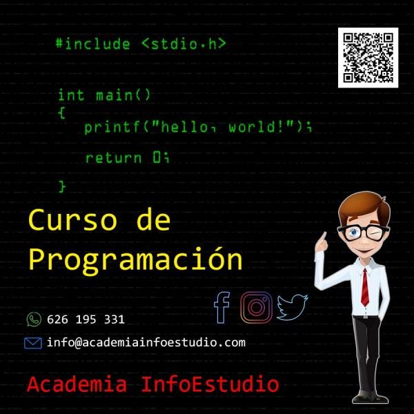 Curso de Iniciación a la Programación en Tenerife