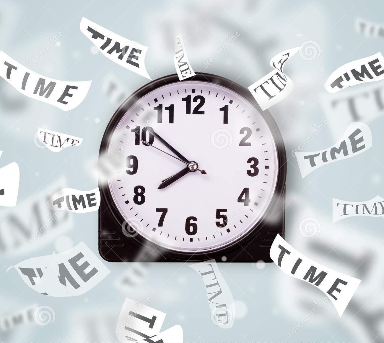 ¿Falta de tiempo?