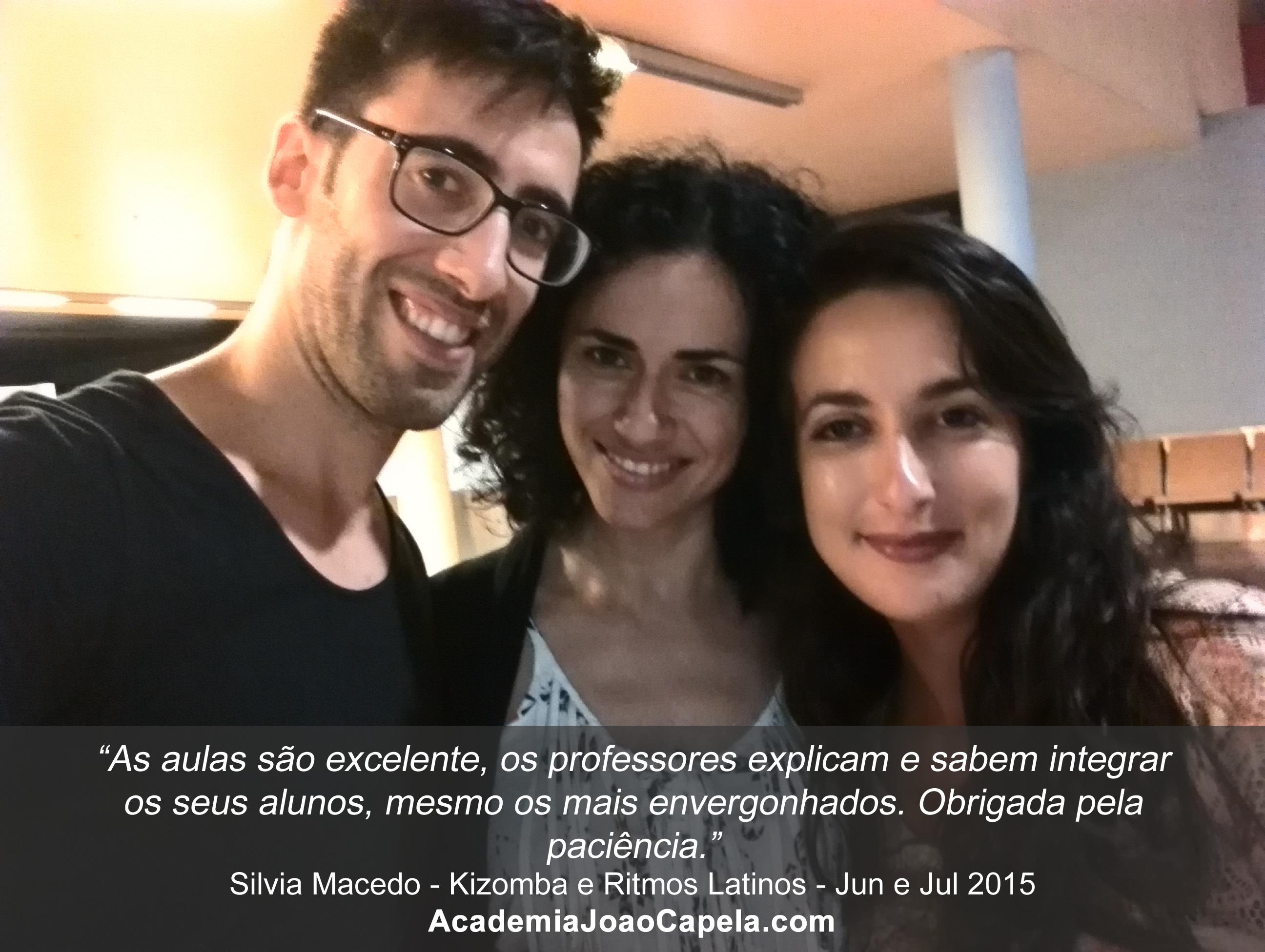 Testemunho Silvia Macedo - Aulas de Kizomba na Academia João Capela em Barcelos