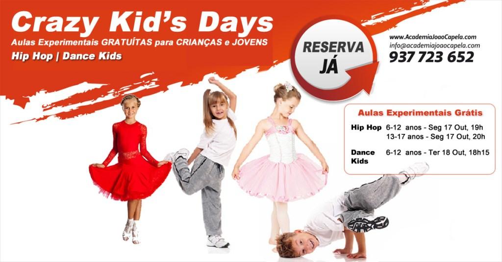 Aulas Abertas de Dança para Crianças e Jovens em Barcelos - Hip Hop e Dance Kids