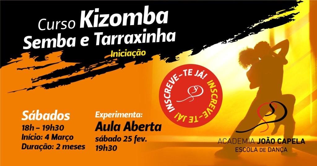 Curso de Kizomba Semba Tarraxinha Iniciação em Barcelos