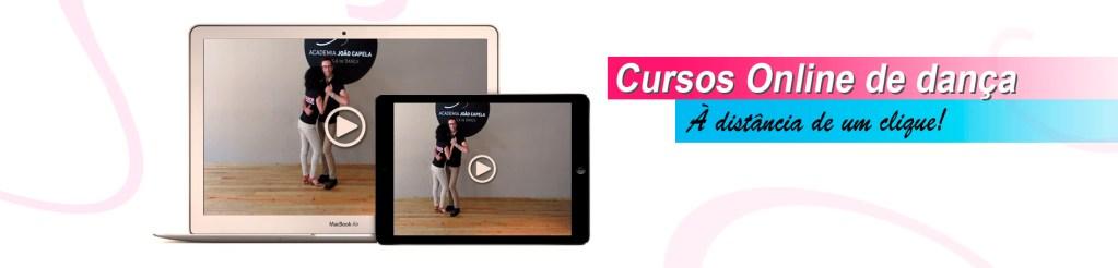 Cursos Online de dança - Kizomba, Salsa, Bachata, Danças de Salão