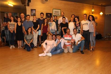 1a Aula Turma Danças de Salao iniciados 5 Set 2017