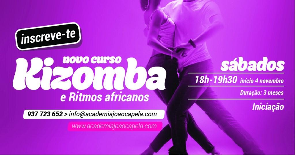 Curso Kizomba Iniciação Novembro 2017