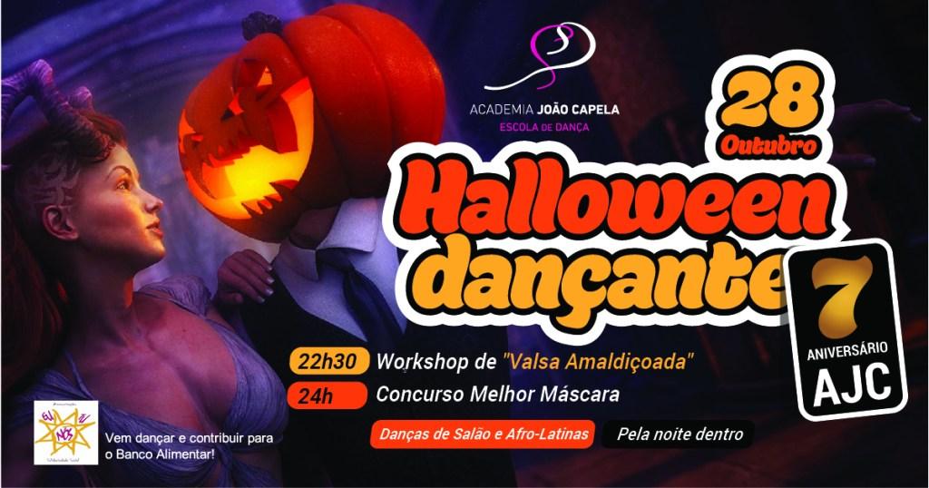 7 Aniversário da Academia João Capela - Halloween Dançante Solidário - out 2017