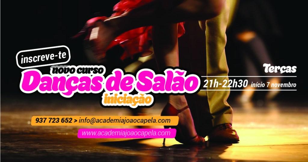 Novo Curso Danças de Salão Iniciação Novembro 2017 Barcelos