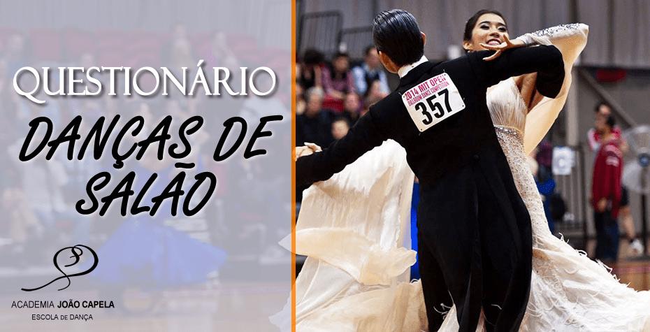 Questionário Danças de Salão e Afro-Latinas