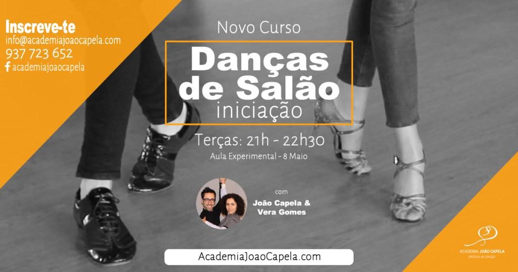 Novo Curso Danças Salão Maio Jun Iniciação