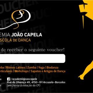 Voucher Aulas de Dança Academia João Capela