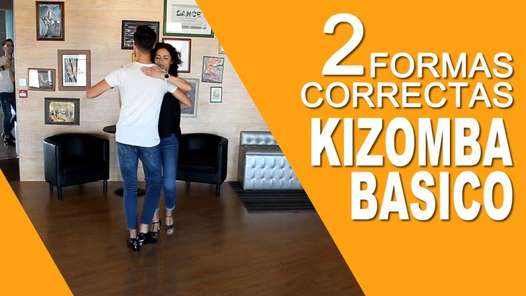 Passo Básico da Kizomba - Como fazer as 2 Formas Correctas do Passo Básico da Kizomba
