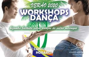 Workshops de Dança de Verão - Academia Joao Capela