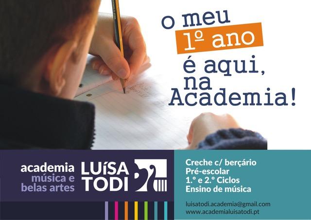 1º ano Academia Luisa Todi