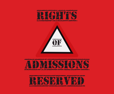 A Level Students foreign quota: Sign board rights of admissions resrved