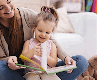 Reading to preschool-aged children