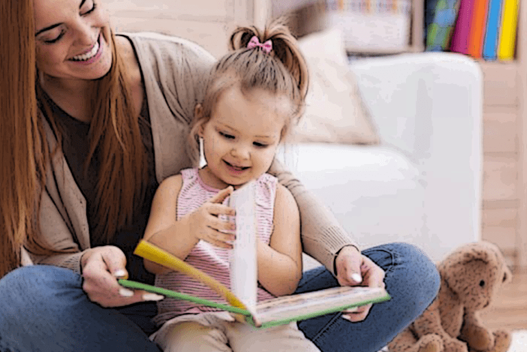 Reading to preschool-aged children