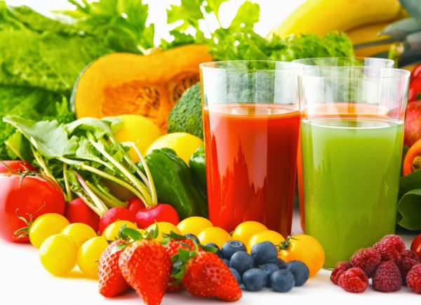consumption of fruit and vegetables