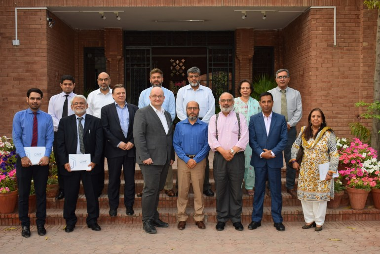 delegation From Finland and UAE visits