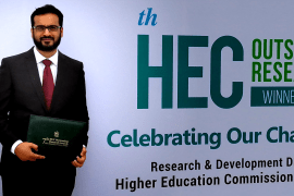 HEC Best Young Research Scholar