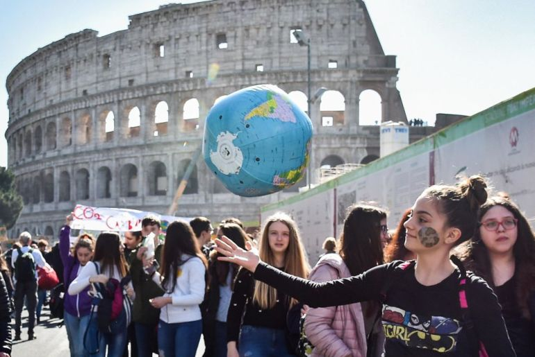 Italy To Make Climate Change Awareness