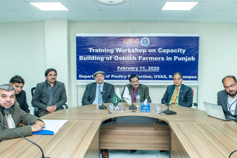 UVAS Holds Capacity Building Training Workshop Of Ostrich Farmers