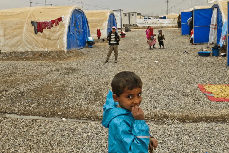 Iraqi Children Await Education